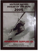 Sevylor Canoe / Kayak Dealer of the year 2005