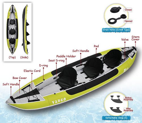 inflatable canoes, Inflatable kayaks - Adventure Supplies UK